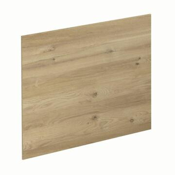 Kitchen splash back laminate Concrete/Boreal Oak L3000 cm x W640cm x T8cm