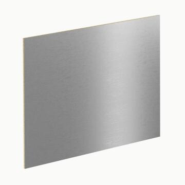 Kitchen splash back laminate Stainless Brush Effect L3000 cm x W640cm x T8cm
