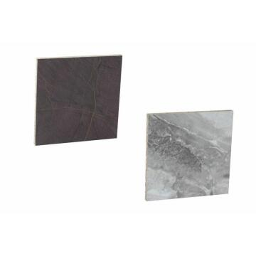 Kitchen splash back laminate White/Grey Travertine L3000 cm x W640cm x T8cm