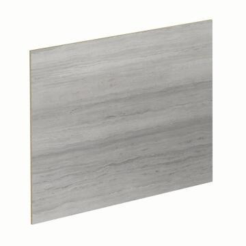 Kitchen splash back laminate White Marble/Sand Traver L3000 cm x W640cm x T8cm