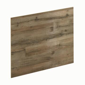 Kitchen splash back laminate Ash Oak/Bronze L3000 cm x W640cm x T8cm