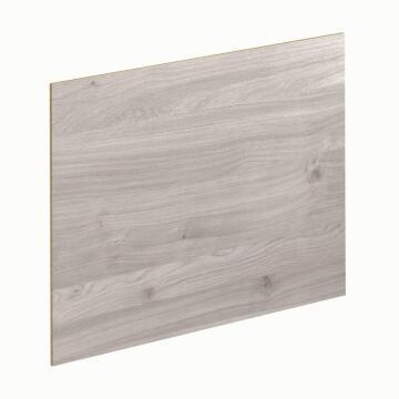 Kitchen splash back laminate White Linea/Grey Linea L3000 cm x W640cm x T8cm