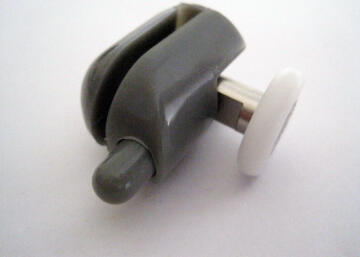 Shower accessories grey single bottom wheel ng