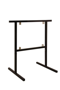 Trestle Legs Steel Adjustable Height Black W750xh780-1060mm-pack of 2