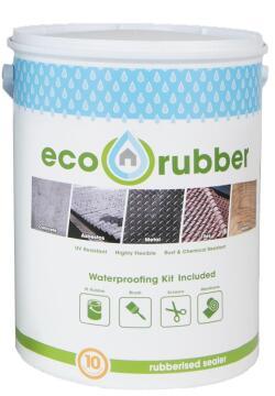 Roof Waterproofing Rubberiser 5kg Charcoal ECO RUBBER
