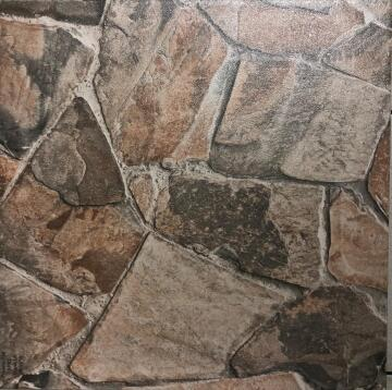 F/TILE CERAMIC STONE BROWN A/S 45X45