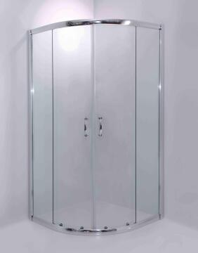 Shower semi frameless glass ACRO clear 100X100X185CM