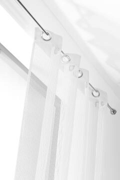 CURTAIN FILET WHITE 140X240CM