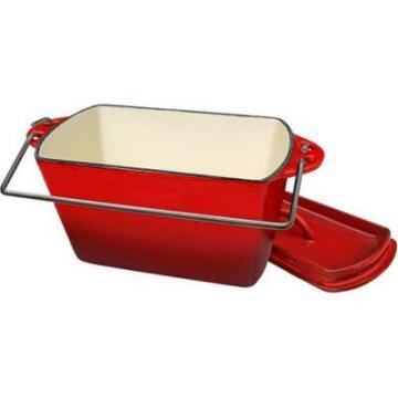 Lk'S Bread Pot (2.2L) (C/I) (Red Enamel)