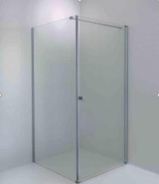 Shower corner entry pivot square franco arm pivot shw 90X90X185CM