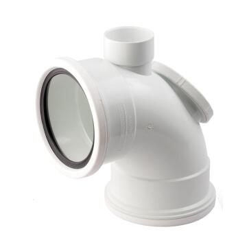 PVC access vent horn bend 110mm above ground