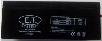 BATTERY LEAD ACID 24V 3.5AH BLU DIGITAL