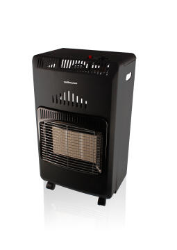 Gas heater MELLERWARE quantum 4.2kw black