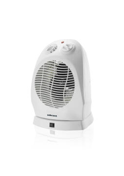 Fan Heater Oscillating MELLERWARE white 2000w