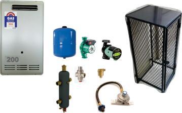 Sapphire Gas Boiler for 200 SQR Meter