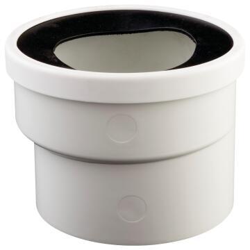 Pan collar offset plain 110mm soil & vent