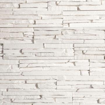 Wall Cladding Oslo White 32,5X7,5Cm