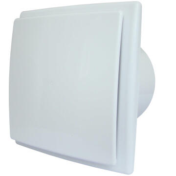 EXTRACTOR FAN WITH BACK SHUTTER