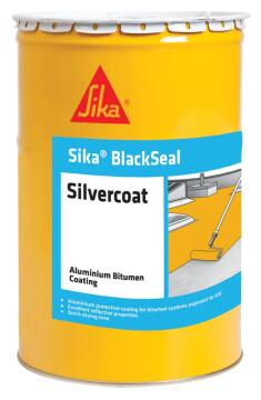 Torch On Silvercoat Topcoat 5lt SIKA