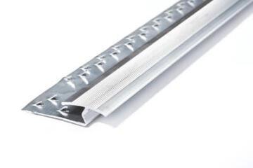 Carpet to Tile Strip Aluminium 10mm (1m)