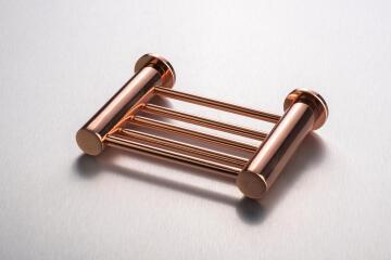 Shower soap Holder Demola Copper