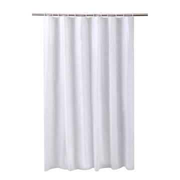 Curtains pvc FUNKY white 180x180cm