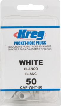 KREG WHITE PLASTIC PLUG