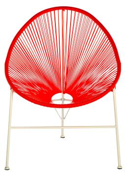 ACAPULCO CORAL EGG CHAIR