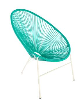 ACAPULCO TURQUOISE EGG CHAIR