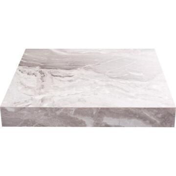 LAMINATE W/T WHITE GRY MARBLE 300X65X3.8