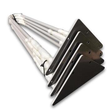 Table Legs Steel Hair Pin Grey 500mm Height-pack of 4
