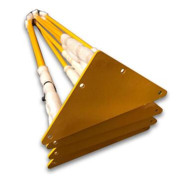 Table Legs Steel Hair Pin Yellow 720mm Height-pack of 4