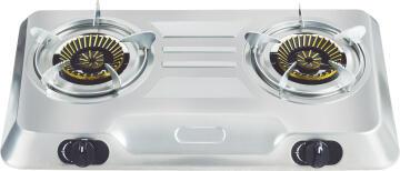 Two Burners TOTAI Gas Hotplate 26/012A