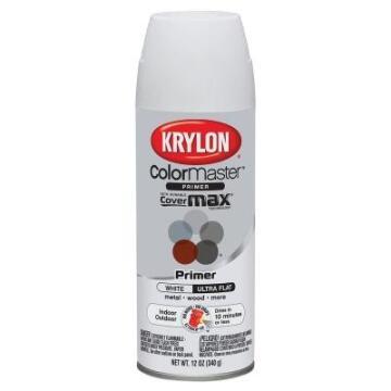 KRYLON CM FLAT WHITE 355ML