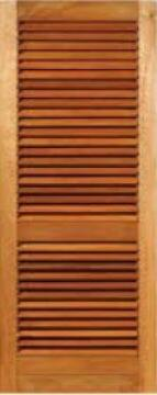 LOUVRE DOOR HARDWOOD - W813XH2032MM