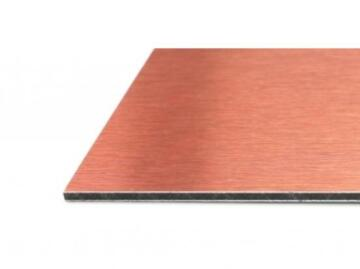 Synthetic Glass Aluminium Composite Panel Black&Copper 3mm thick-3200x1220mm