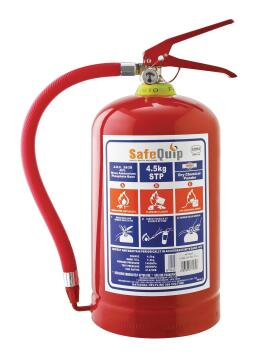 FIRE EXTINGUISHER+BRACKET 4,5KG SAFE QUI