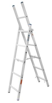 Ladder 3-IN-1 Step/Ext Aluminium GRAVITY