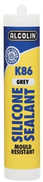 K86 SILICONE SEALANT 280ML GREY