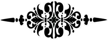 Granny b's stencils studio floor design