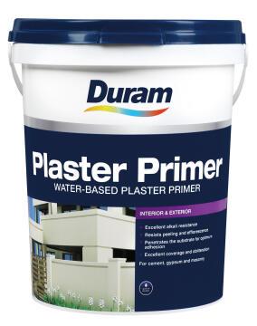 DURAM PLASTER PRIMER WHITE 20L