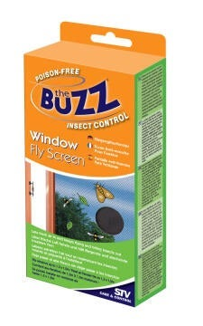 The buzz window fly screen - charcoal