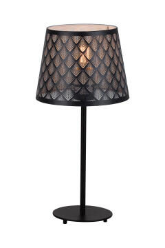 TABLE LAMP METAL & WOOD