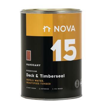 NOVA 15 TIMBERSEAL MAHOGANY 5L
