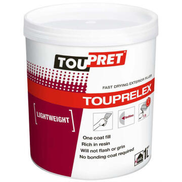 Toupret exterior f / drying l / weight filler 1 liter