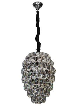 DIANA CRYSTAL CHANDELIER - CLEAR 6XE14