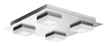 4X3W LED CUBES SQUARE CEILING IP44 4000K