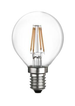 LED 4W CLEAR G45 FILAMENT DIMMABLE