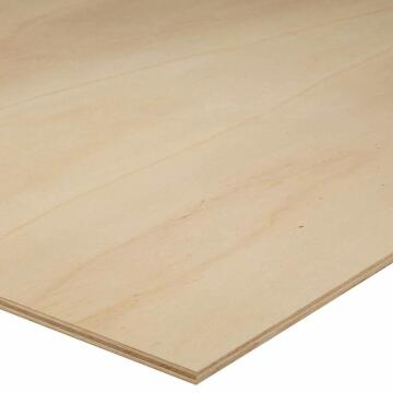Board Plywood Commercial with Poplsr Core Grade B/C 6mm thick - 2440x1220mm