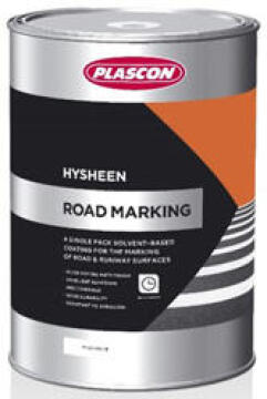 Hysheen roadmarking black 5 liters